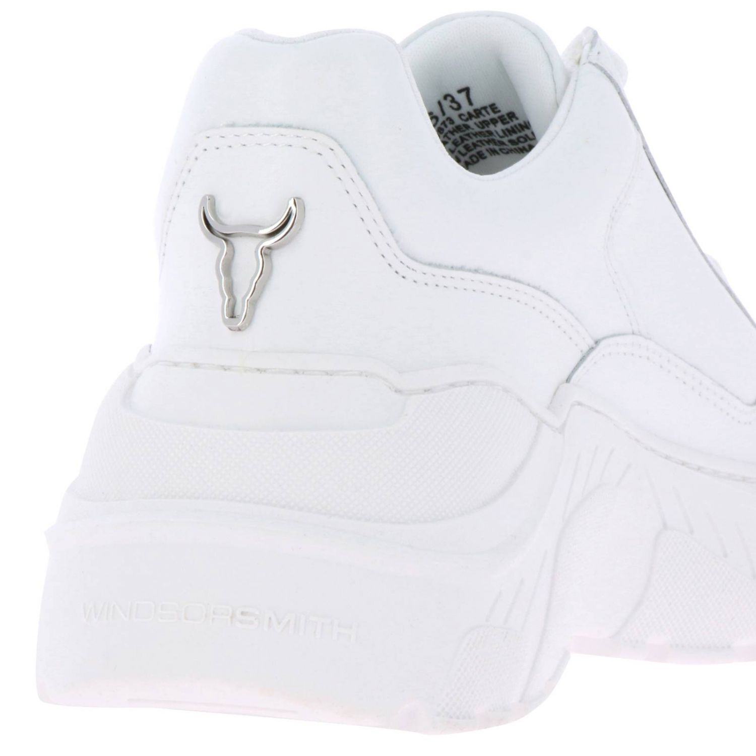 Sneakers women Windsorsmith white 4