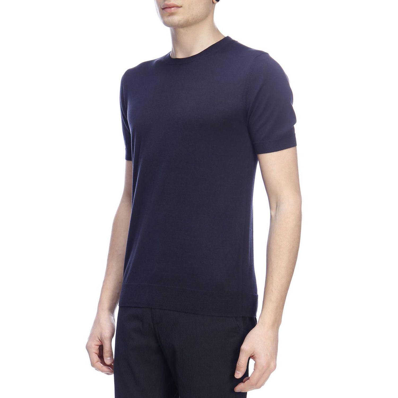 Sweater men Paolo Pecora blue 2