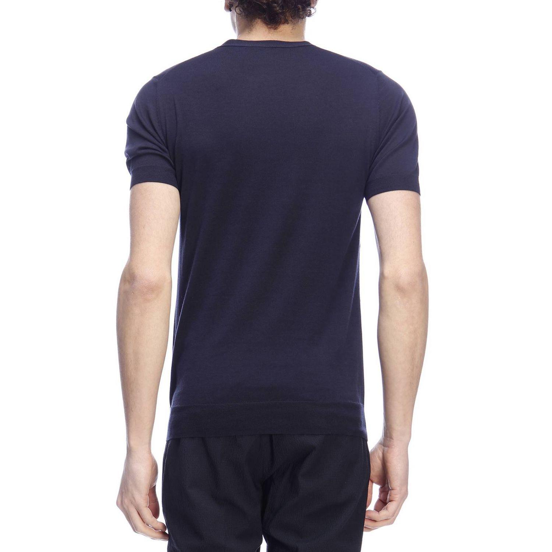 Sweater men Paolo Pecora blue 3