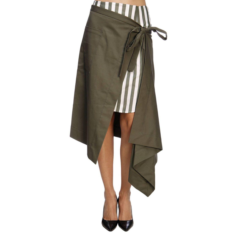 Skirt women Monse green 1