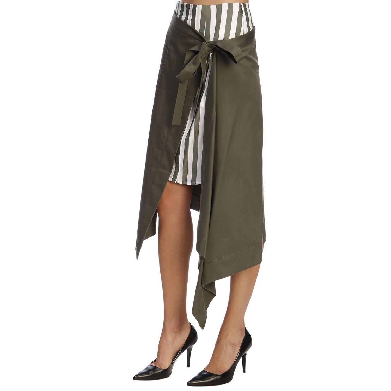 Skirt women Monse green 2