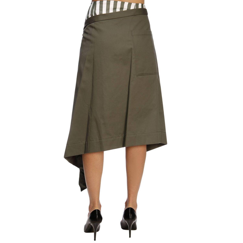 Skirt women Monse green 3