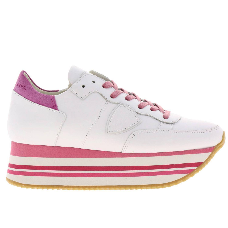 Обувь Женское Philippe Model фуксия 1