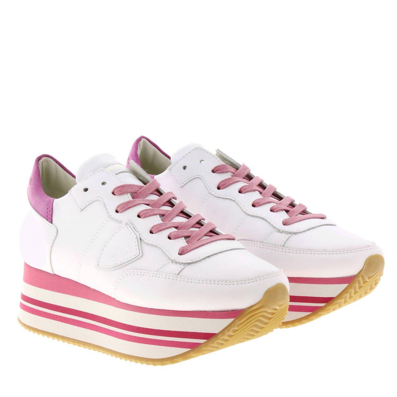 Обувь Женское Philippe Model фуксия 2