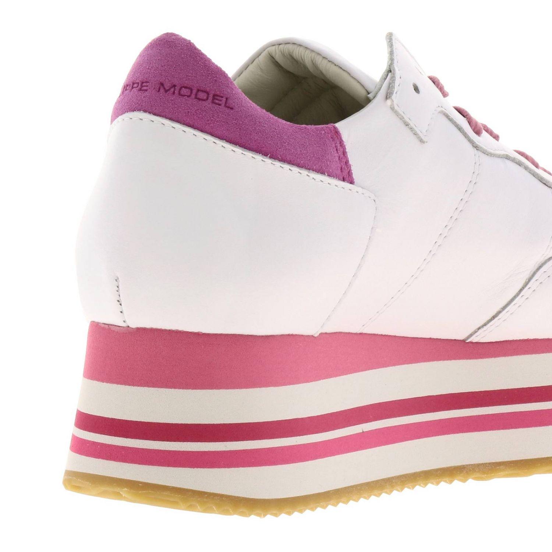 Обувь Женское Philippe Model фуксия 4