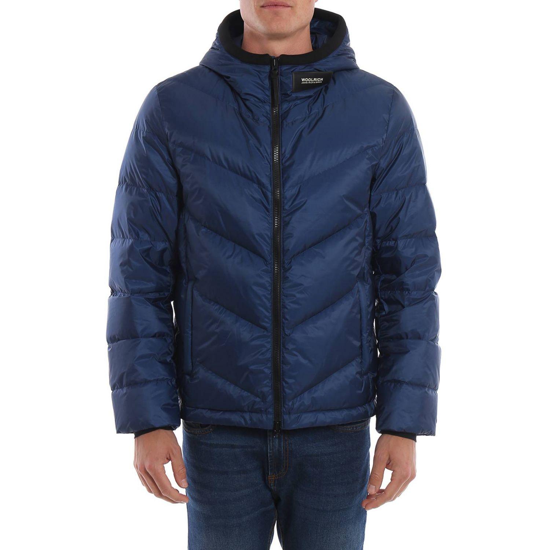 Sweatshirt men Woolrich blue 1