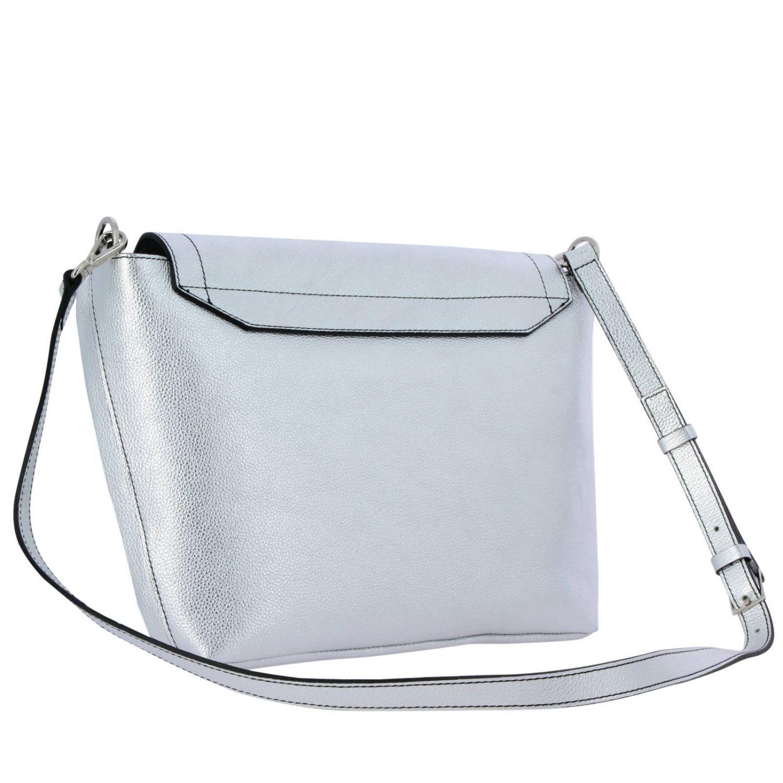 Shoulder bag women Patrizia Pepe silver 3