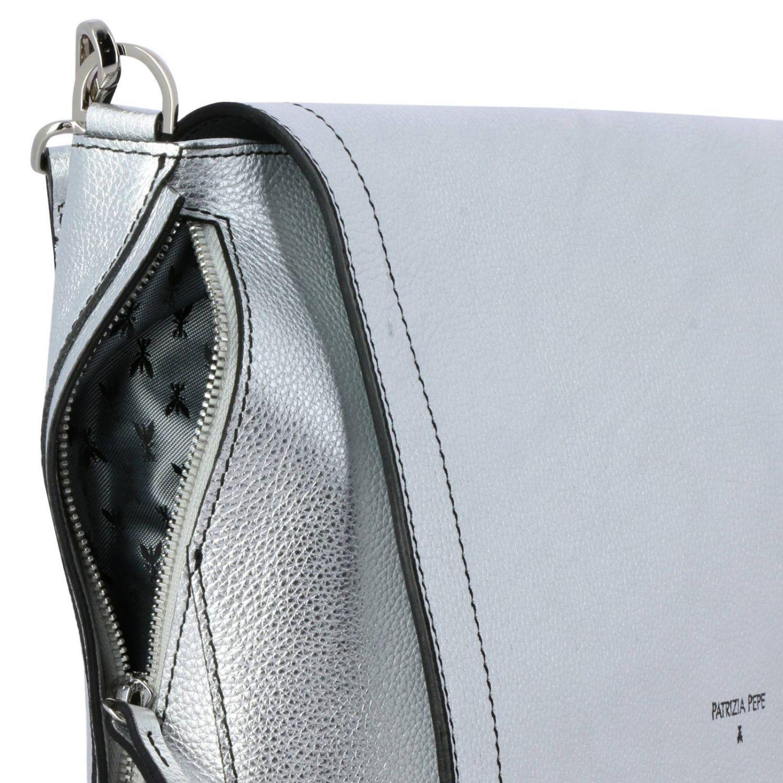 Shoulder bag women Patrizia Pepe silver 4