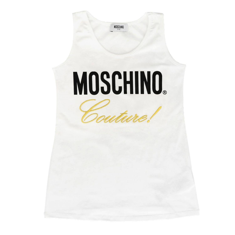 Vest kids Moschino Kid white 1