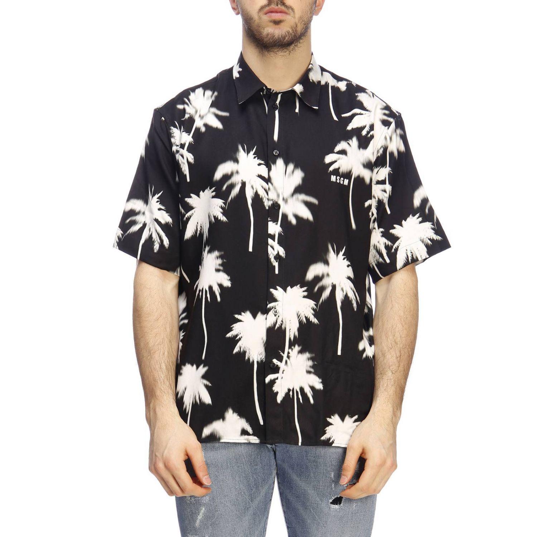 Shirt men Msgm black 1