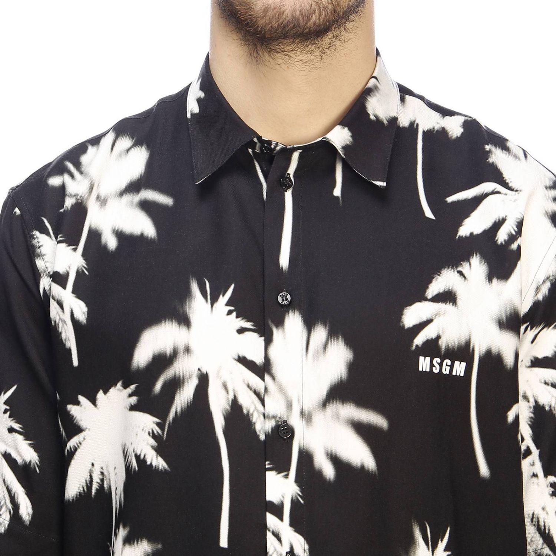 Shirt men Msgm black 4