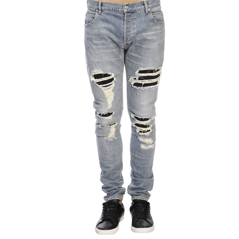 Jeans men Balmain blue 1