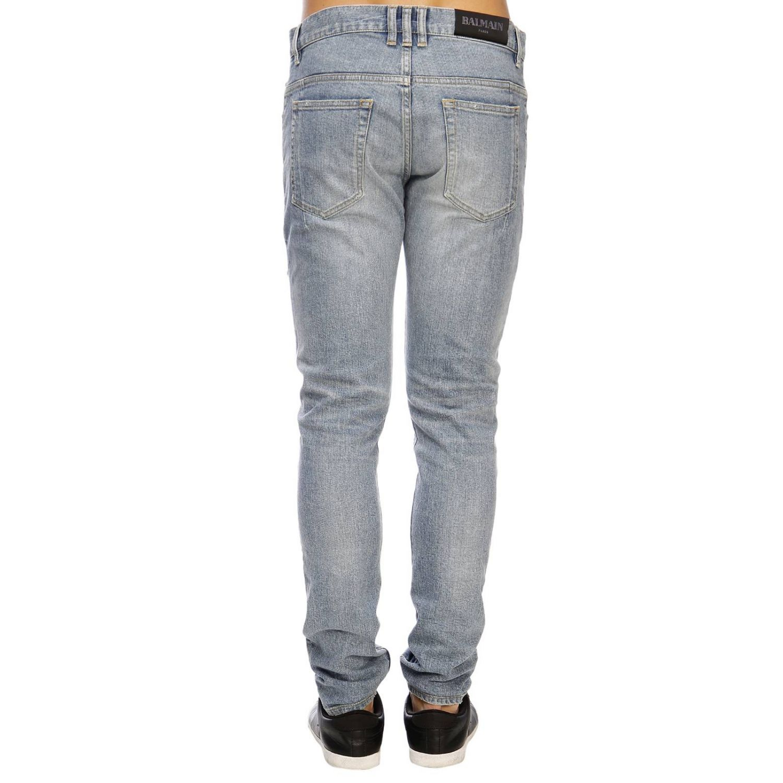 Jeans men Balmain blue 3