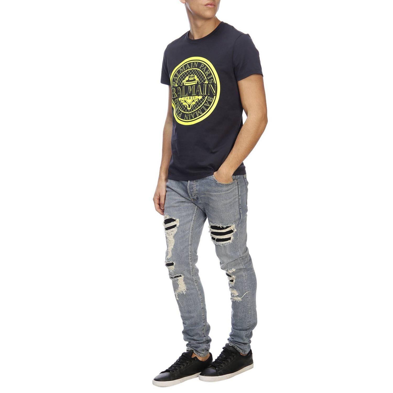 Jeans men Balmain blue 4