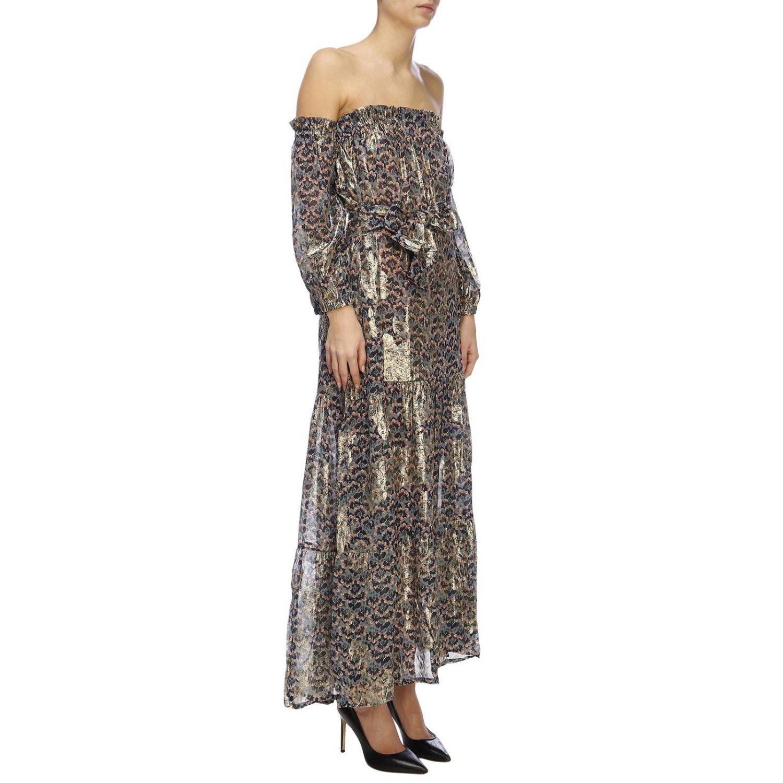 Kleid damen Anjuna hellblau 4