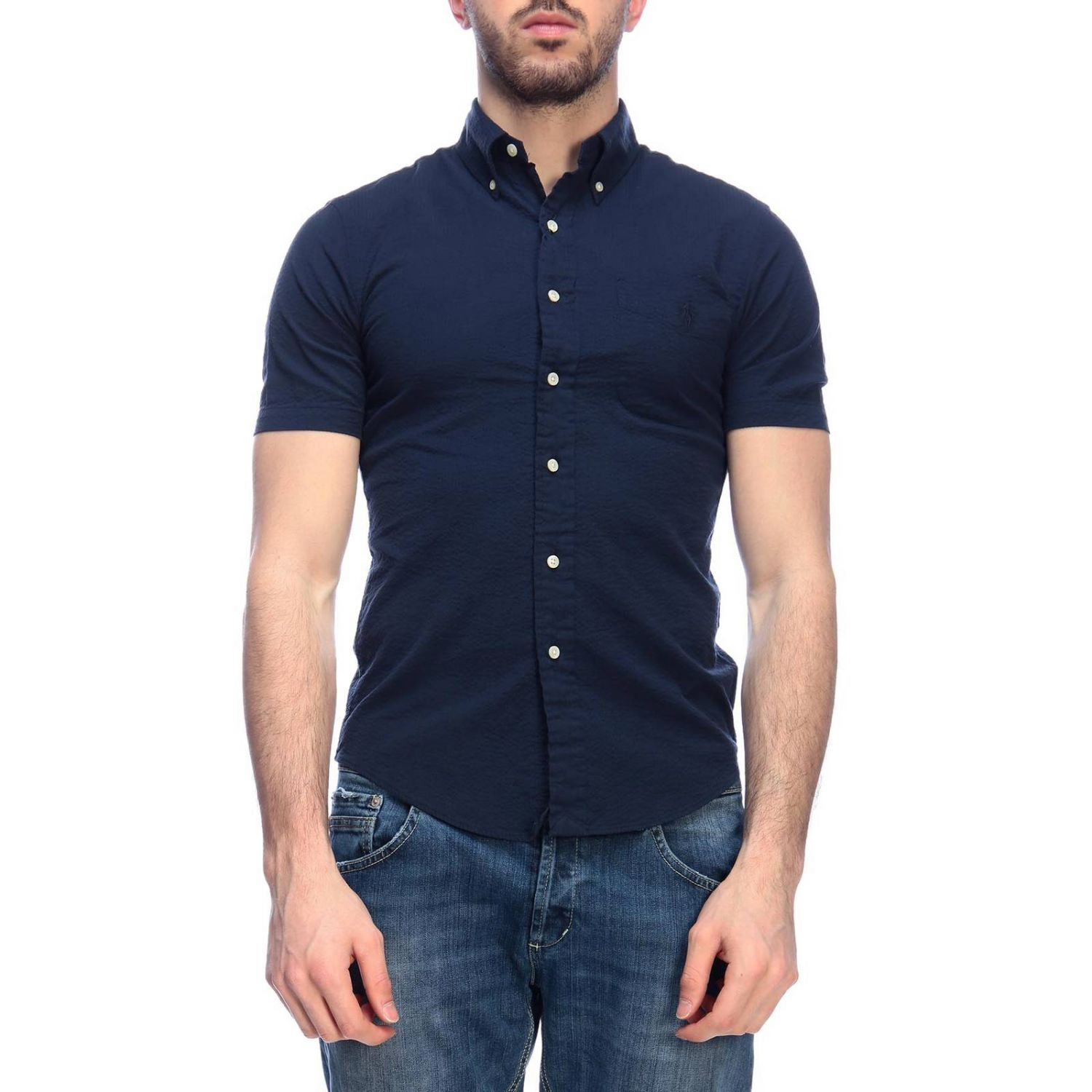 Shirt men Polo Ralph Lauren navy 1