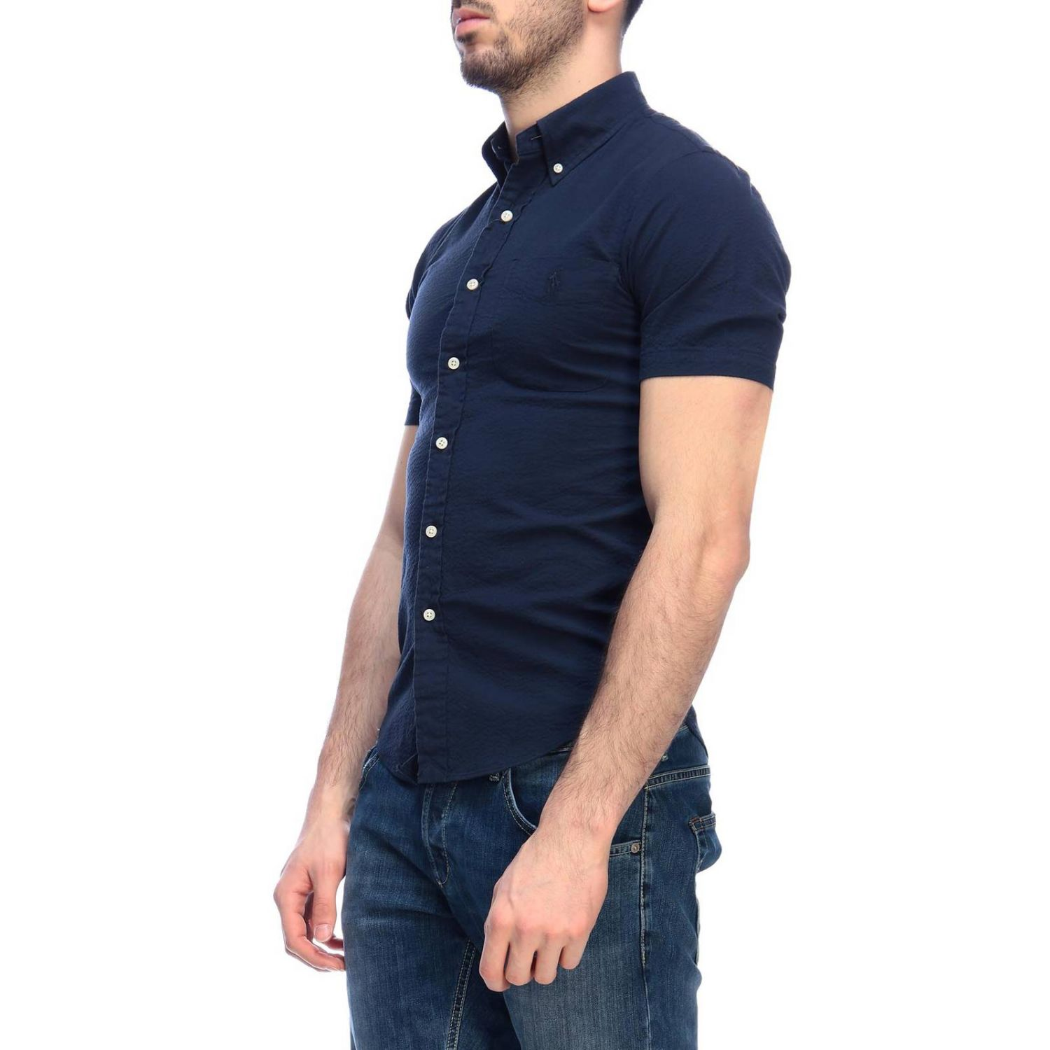 Shirt men Polo Ralph Lauren navy 2