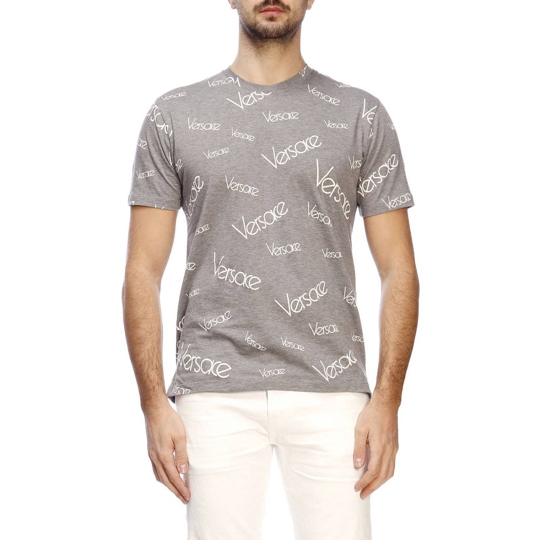 T-shirt herren Versace grau 1