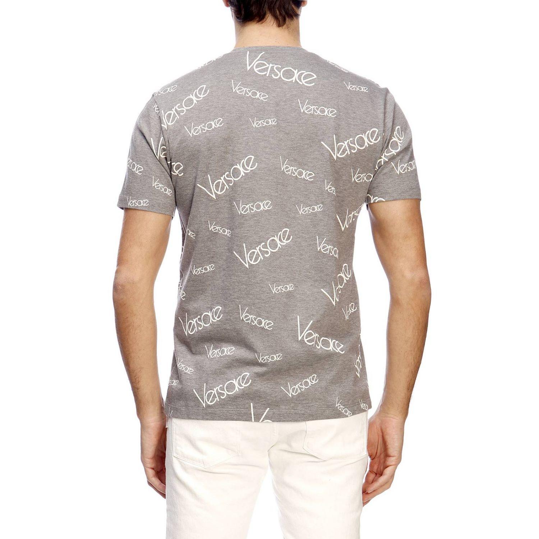 T-shirt herren Versace grau 3