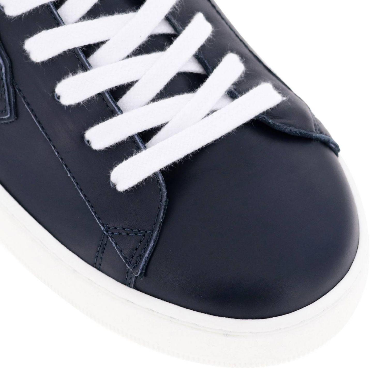 Shoes men Philippe Model blue 3
