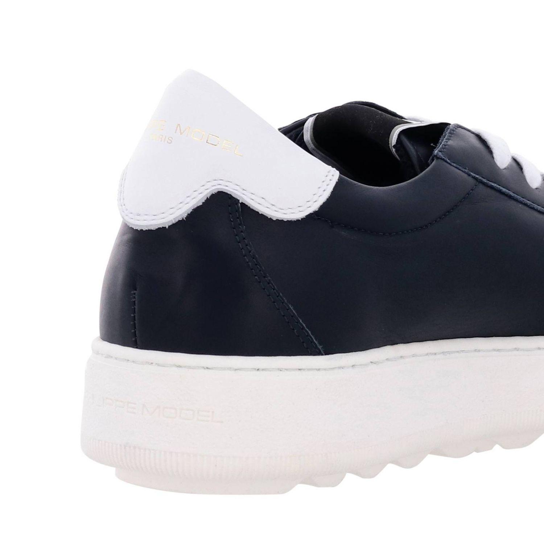 Shoes men Philippe Model blue 4
