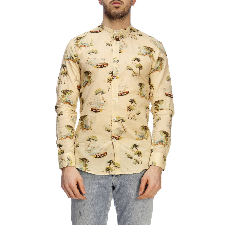 Shirt men Daniele Alessandrini multicolor 1