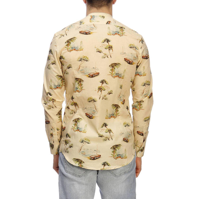 Shirt men Daniele Alessandrini multicolor 3