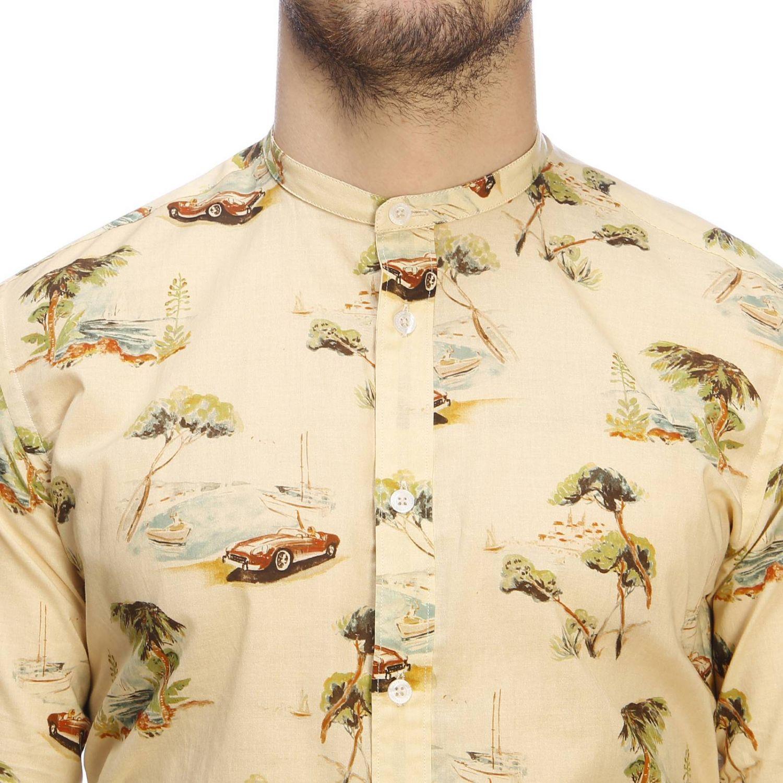 Shirt men Daniele Alessandrini multicolor 4