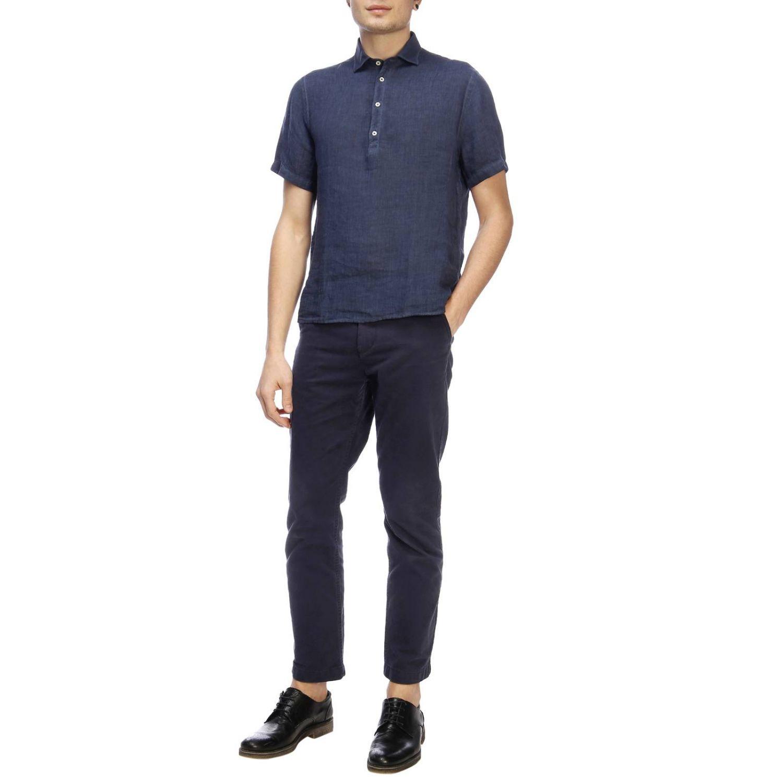 Рубашка Мужское Brooksfield синий 4