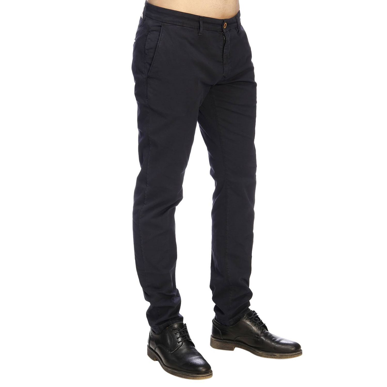 Pantalone Siviglia stretch blue 2