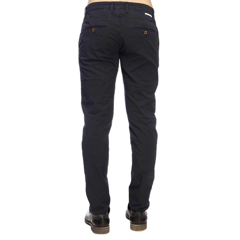 Pantalone Siviglia stretch blue 3