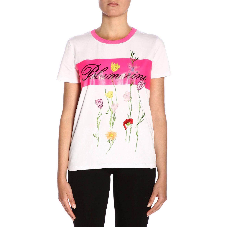 T-shirt women Blumarine white 1
