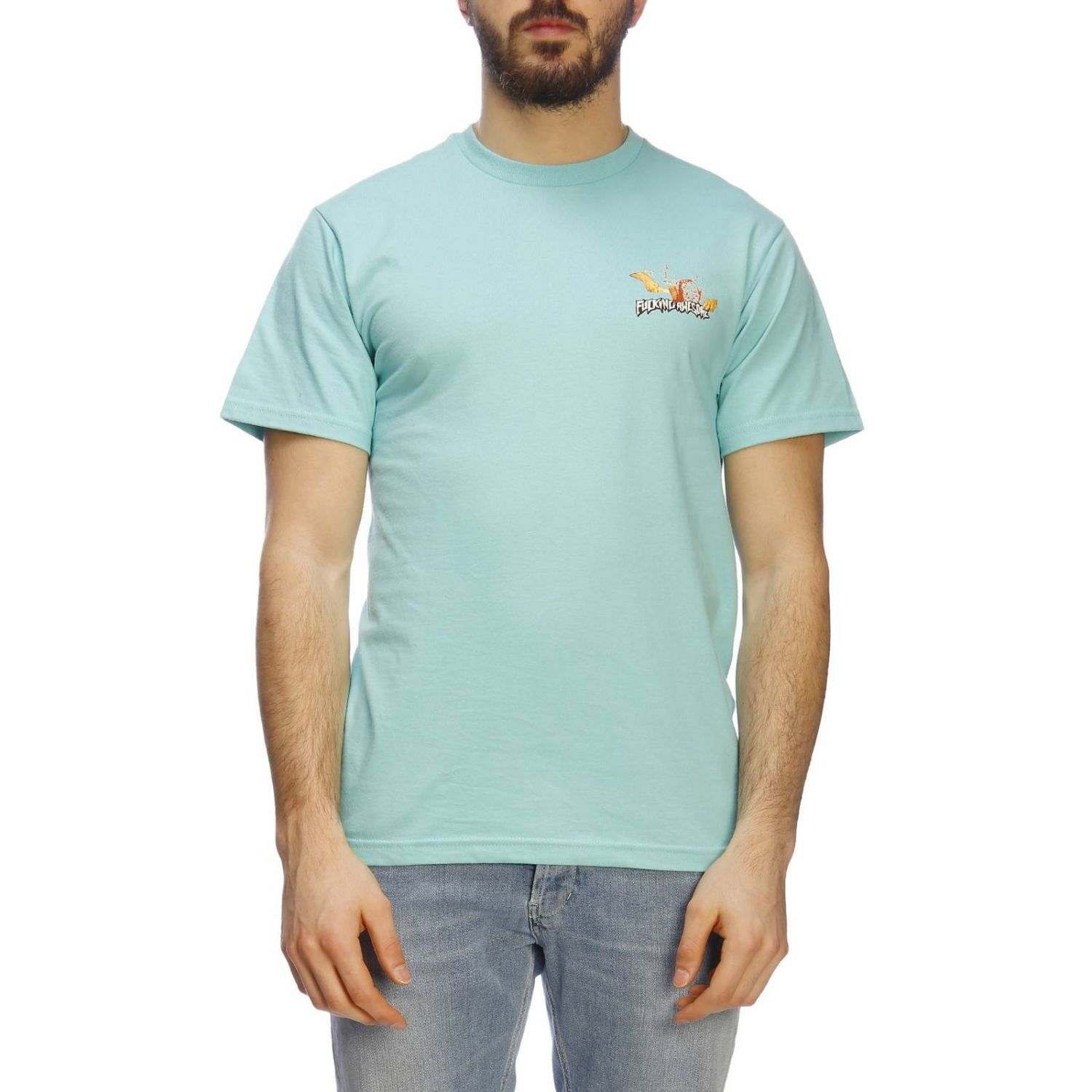 Camiseta hombre Fucking Awesome menta 1