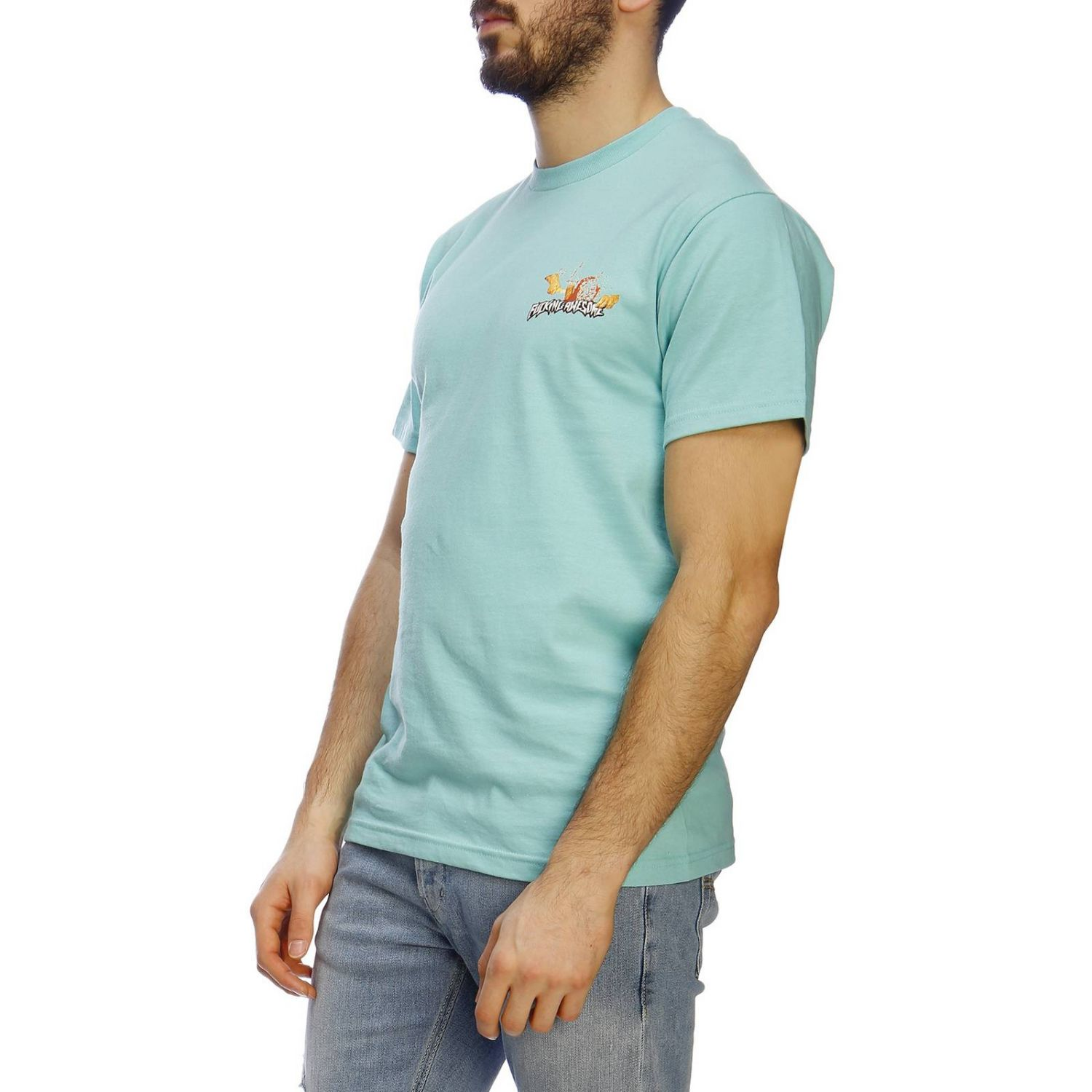 Camiseta hombre Fucking Awesome menta 2