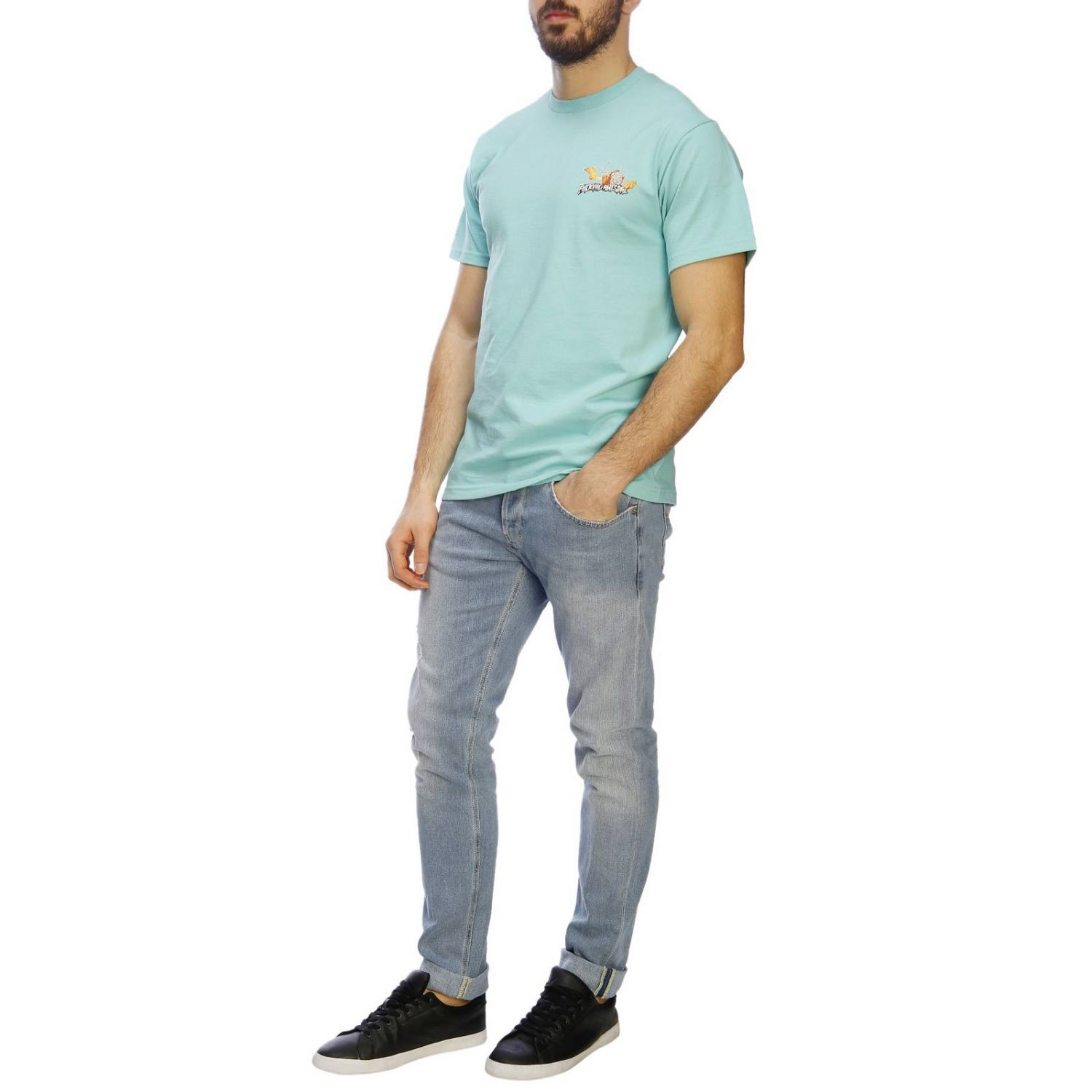 Camiseta hombre Fucking Awesome menta 4