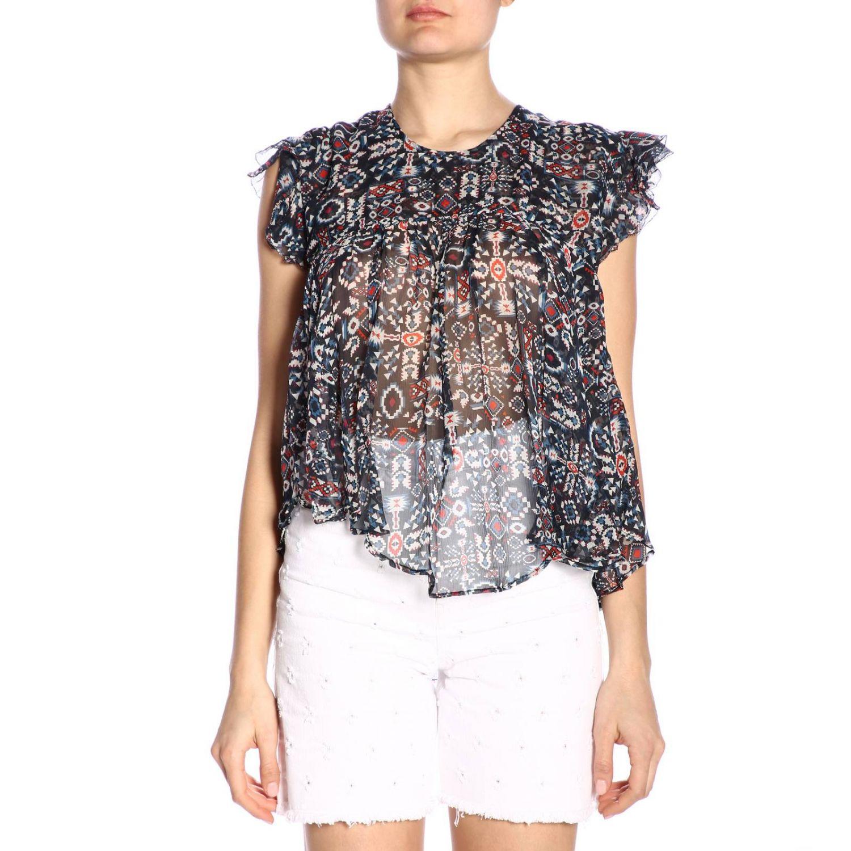 T恤 女士 Isabel Marant Etoile 黑色 1