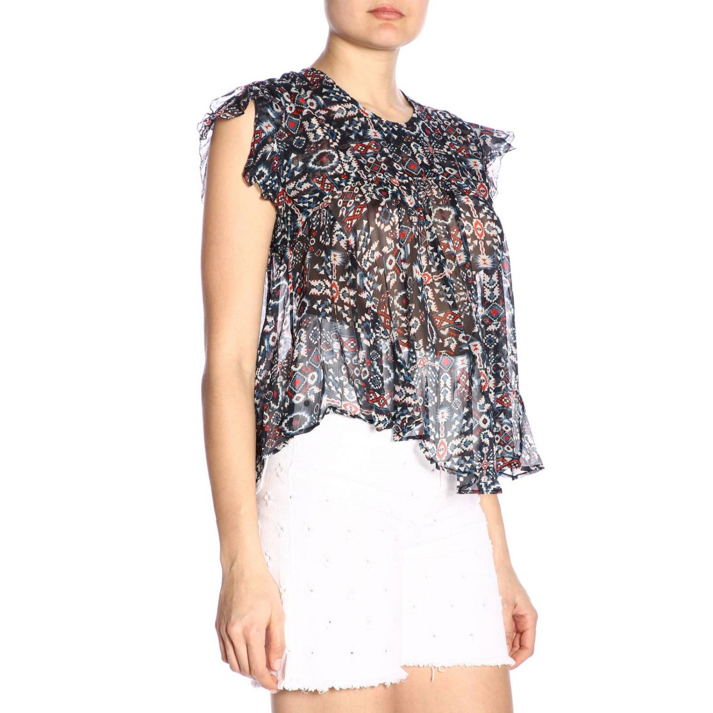 T恤 女士 Isabel Marant Etoile 黑色 2