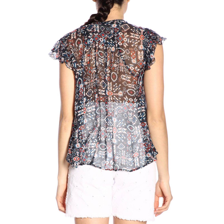 T恤 女士 Isabel Marant Etoile 黑色 3