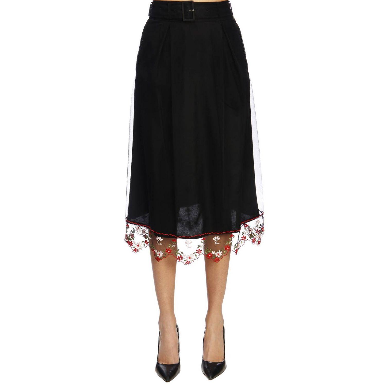 Skirt women Simone Rocha black 1