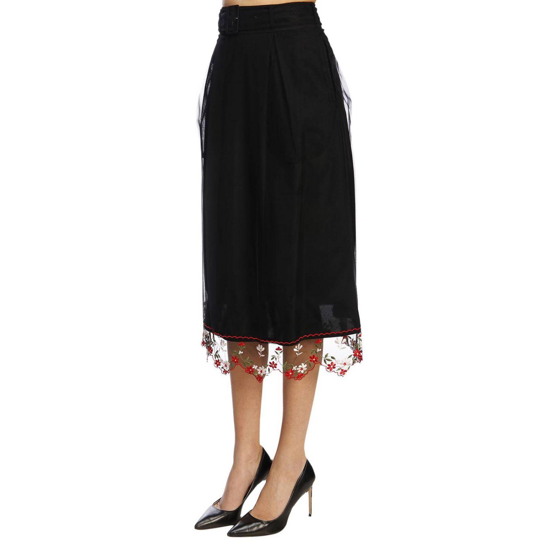 Skirt women Simone Rocha black 2
