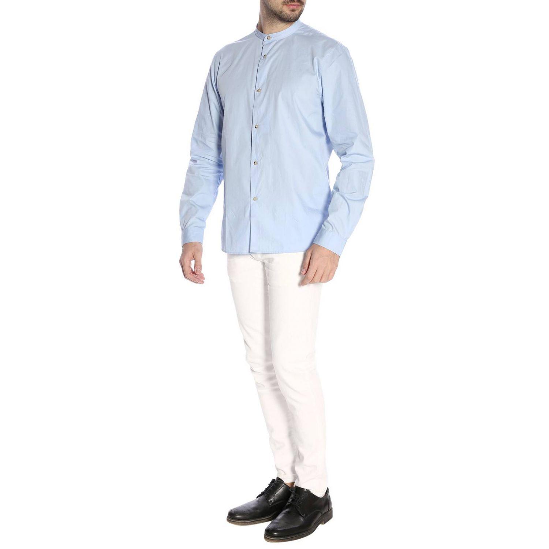 Рубашка Мужское Acne Studios синий 5