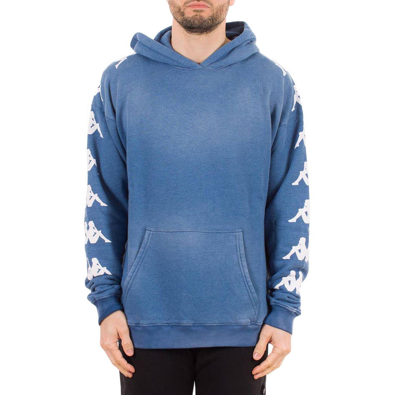 Sweatshirt herren Danilo Paura X Kappa blau 1