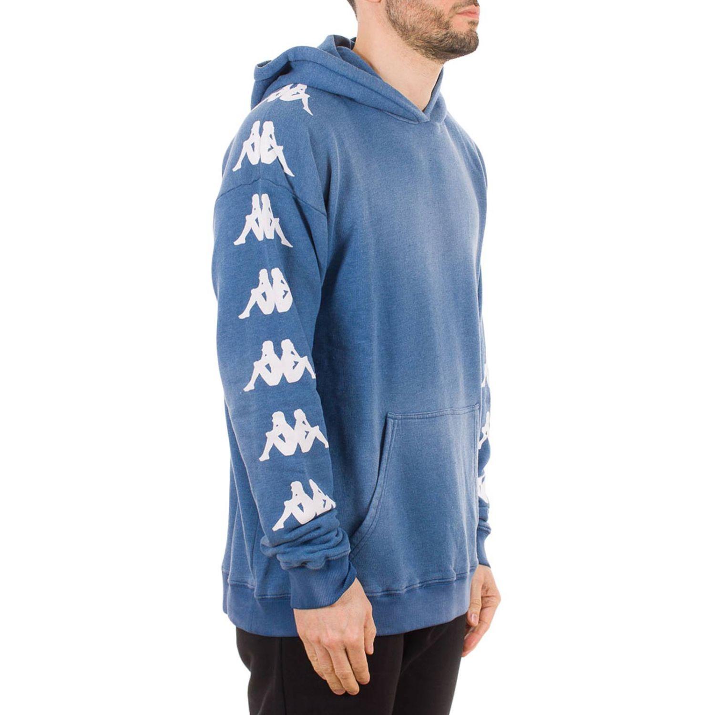 Sweatshirt herren Danilo Paura X Kappa blau 2