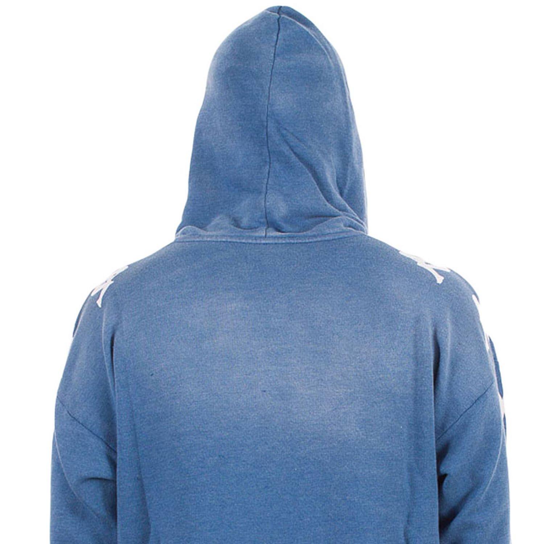 Sweatshirt herren Danilo Paura X Kappa blau 4