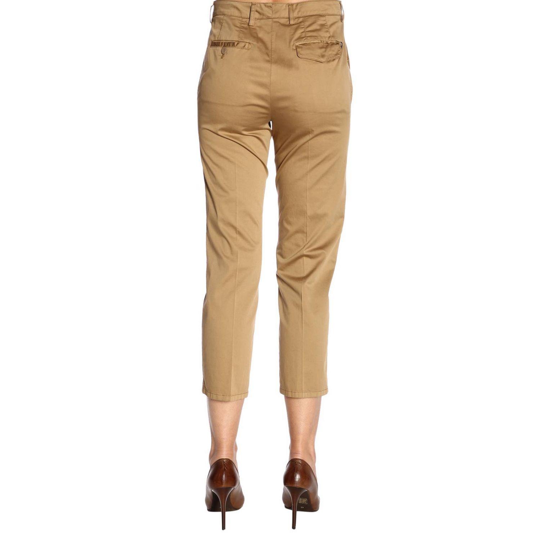 Trousers women Dondup camel 3