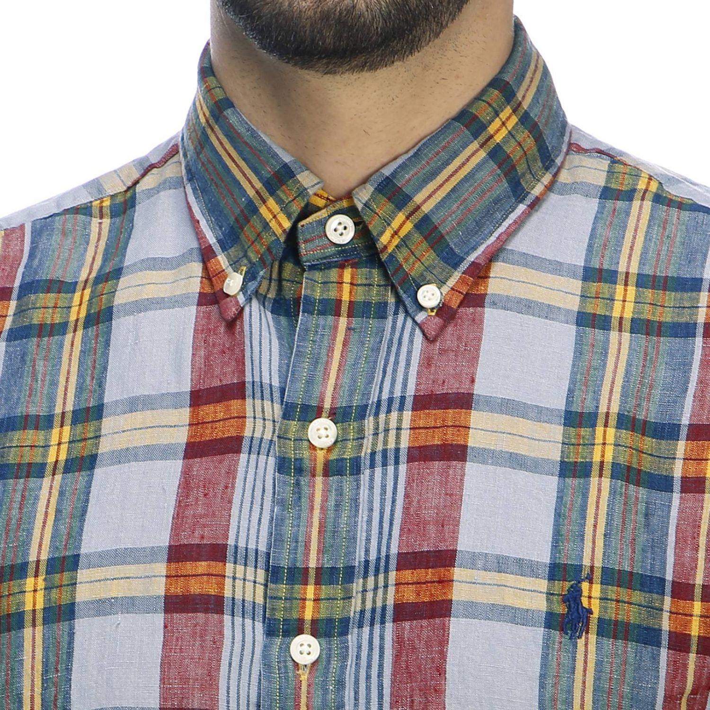 Hemd herren Polo Ralph Lauren blau 4