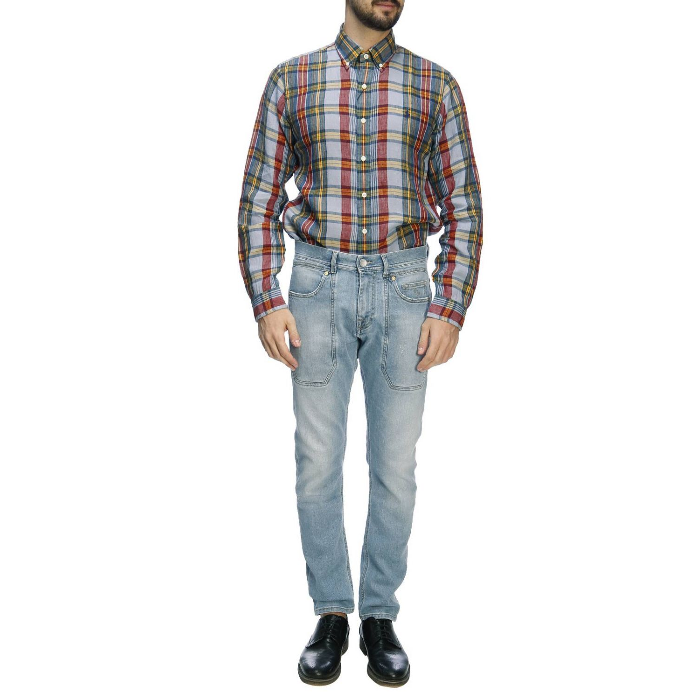 Chemise homme Polo Ralph Lauren bleu 5