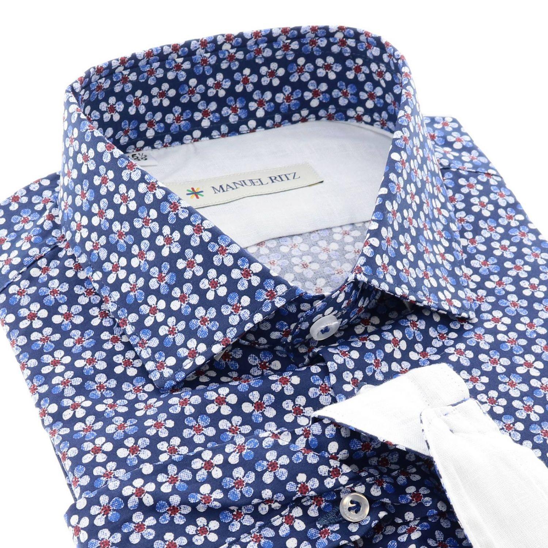 Shirt men Manuel Ritz blue 2
