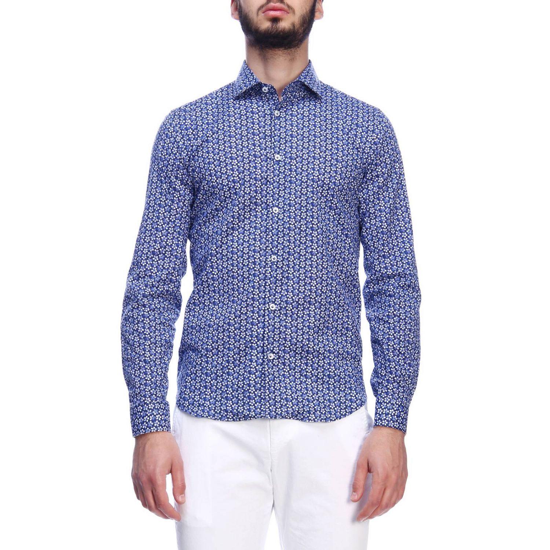 Shirt Manuel Ritz: Shirt men Manuel Ritz blue 1 1