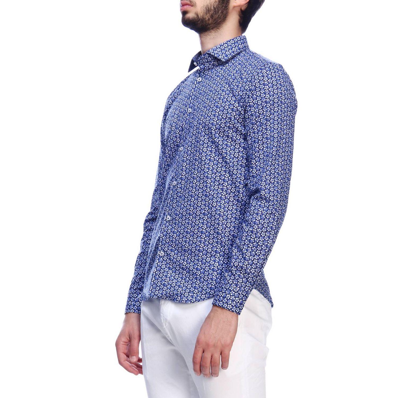 Shirt men Manuel Ritz blue 1 2